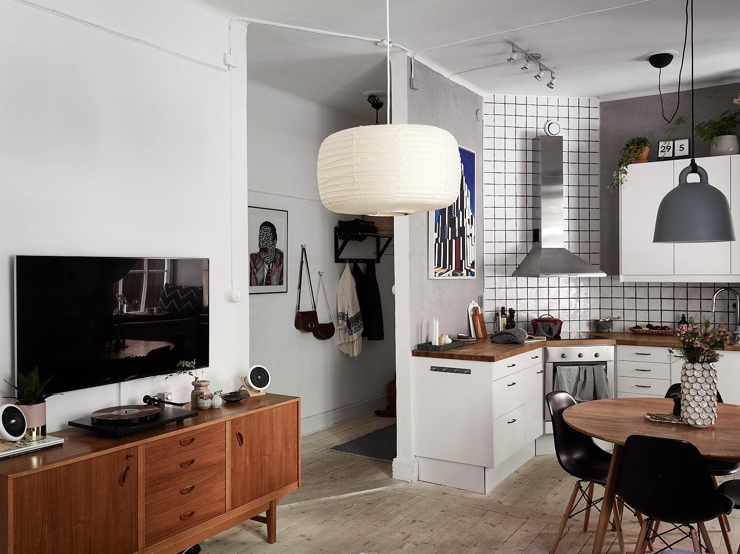 гостиная кухня комод телевизор прихожая коридор одежда