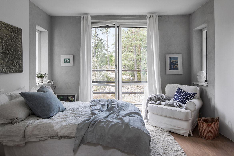 спальня кровать кресло