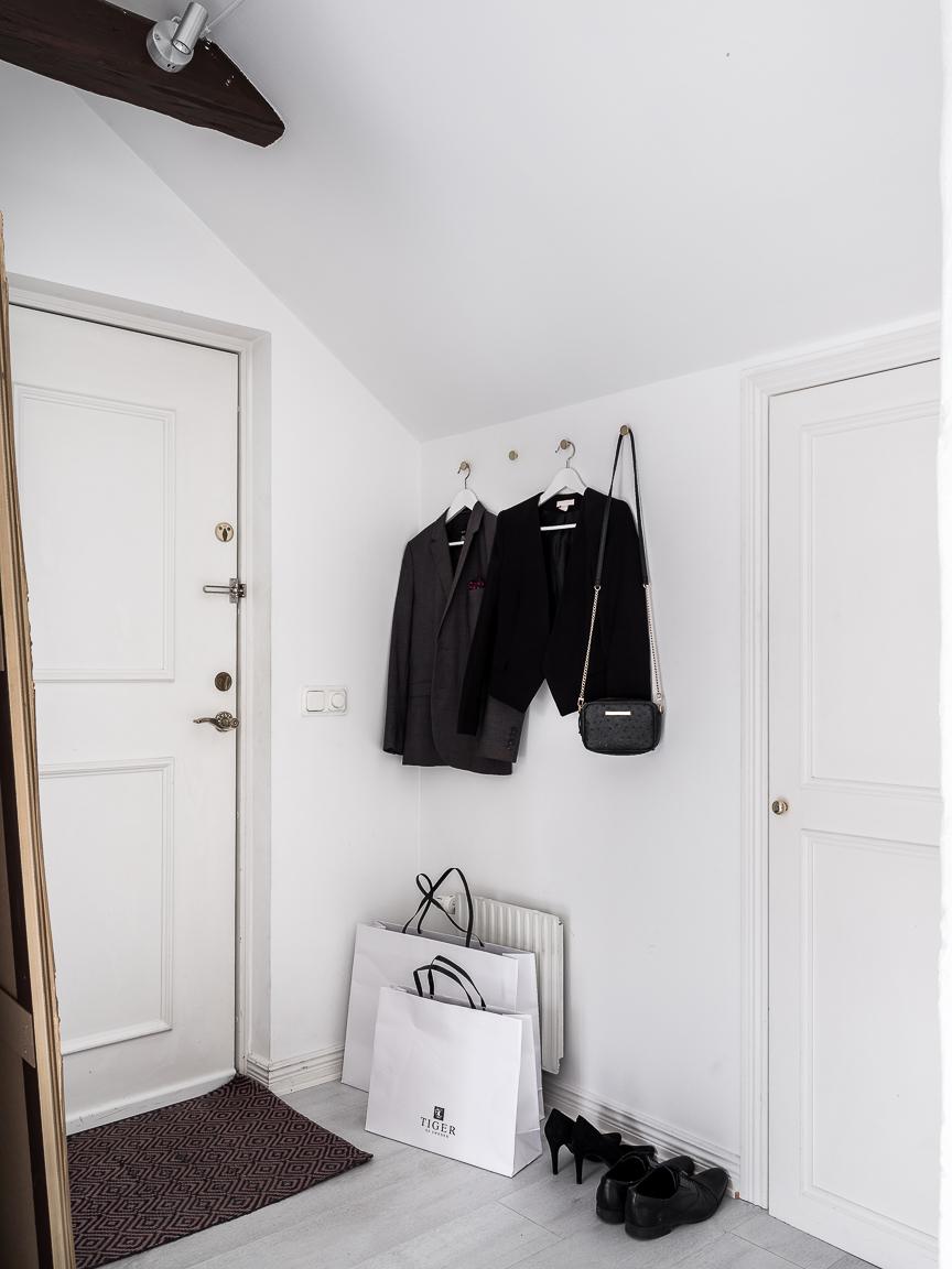 прихожая входная дверь одежда