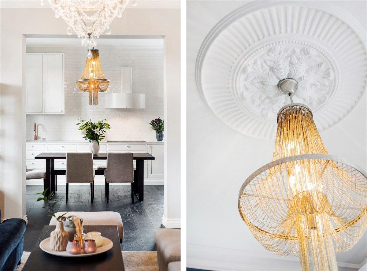 проем кухня столовая потолок лепнина розетка люстра