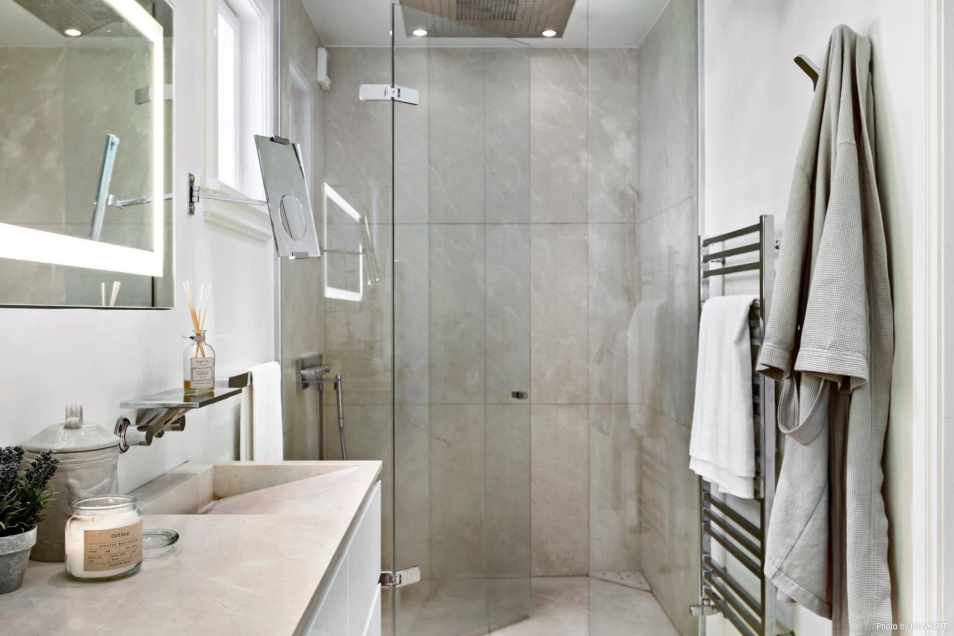 санузел раковина душ полотенцесушитель
