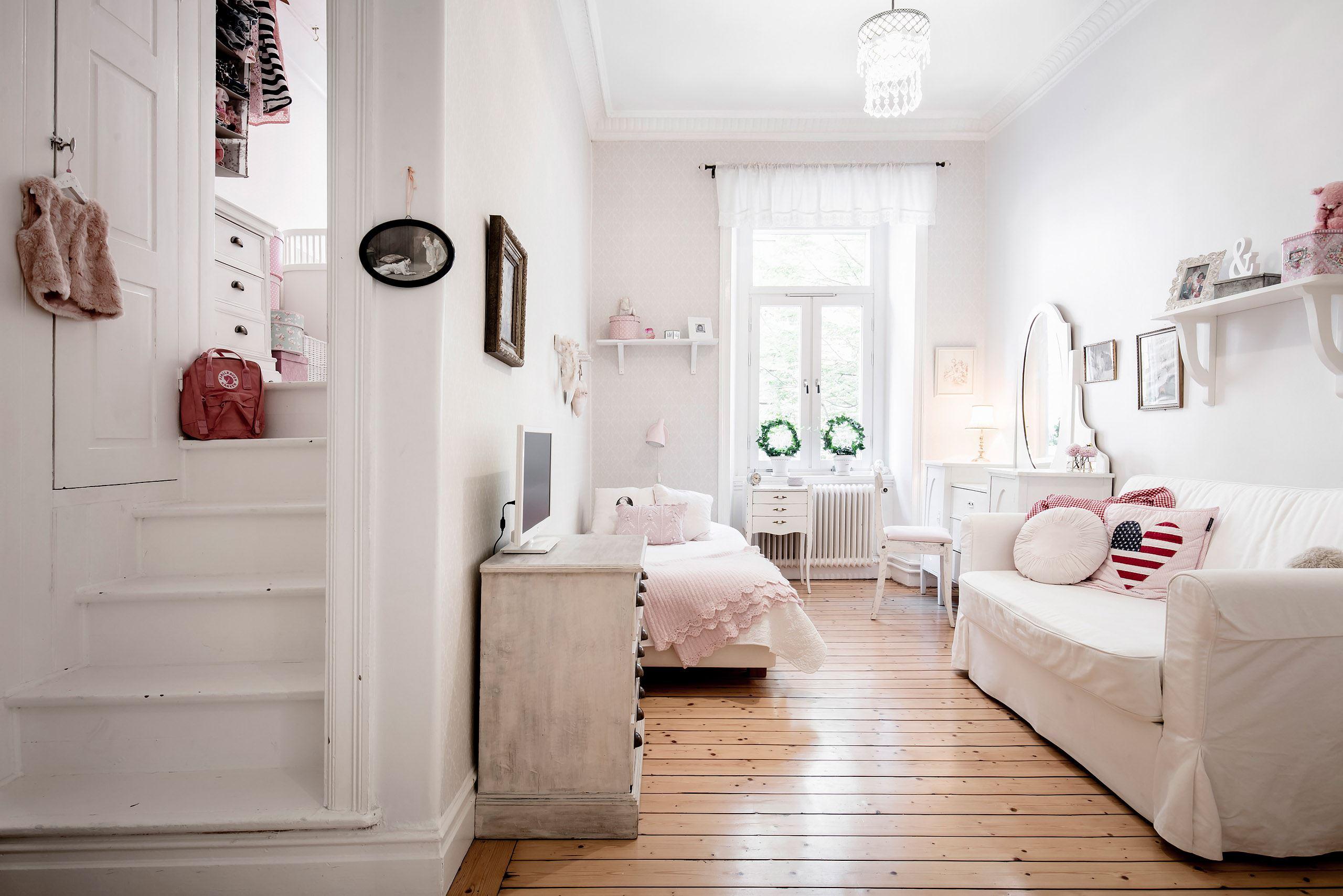 детская комната лестница второй уровень ступени