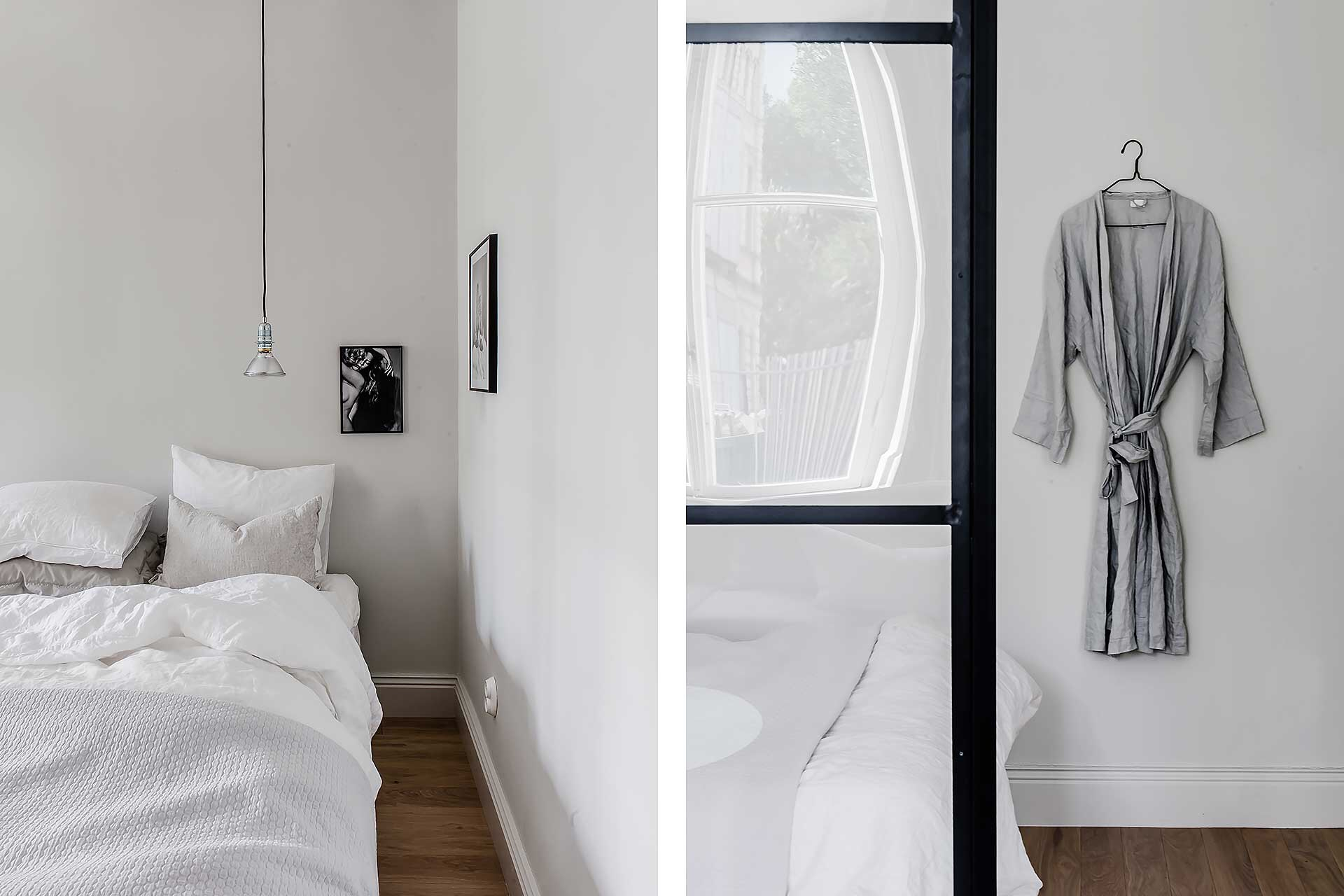 перегородка спальня кровать