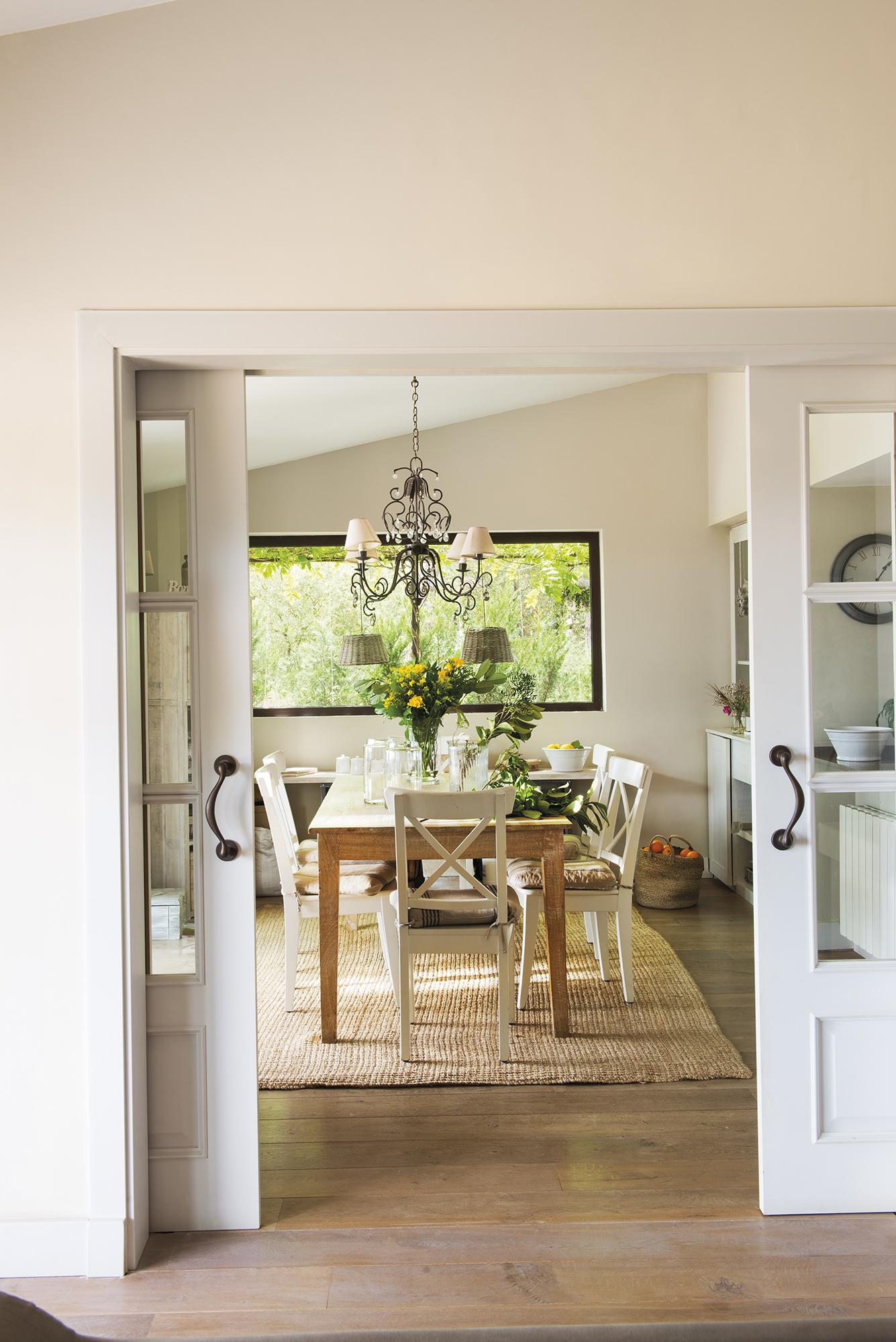 раздвижные двери обеденный стол