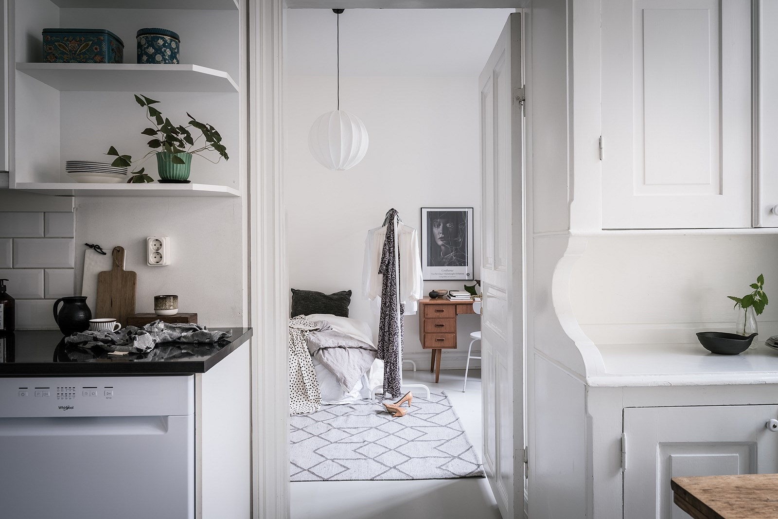 кухня спальня