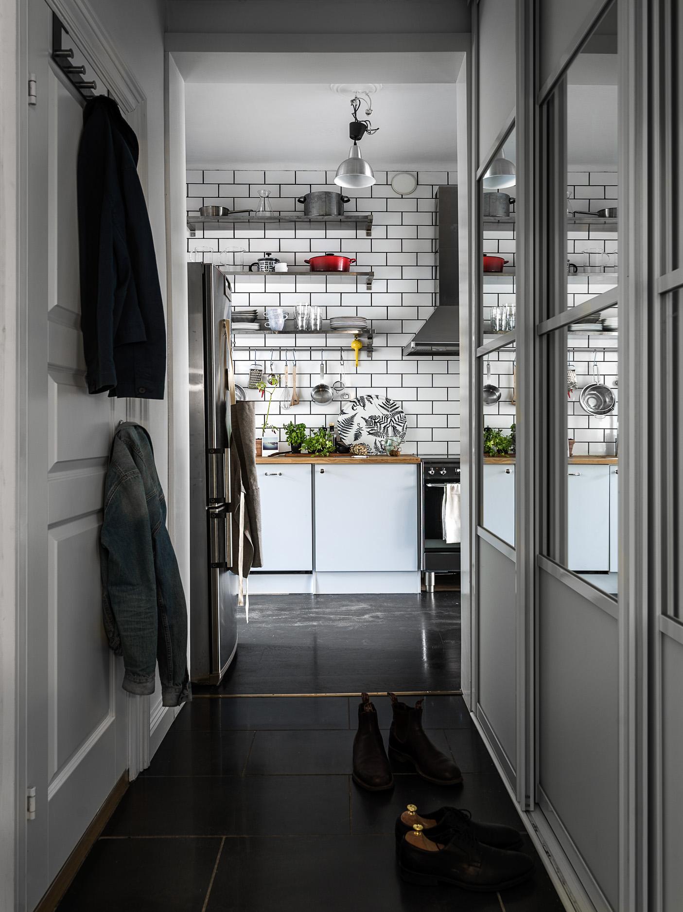 коридор встроенный шкаф купе