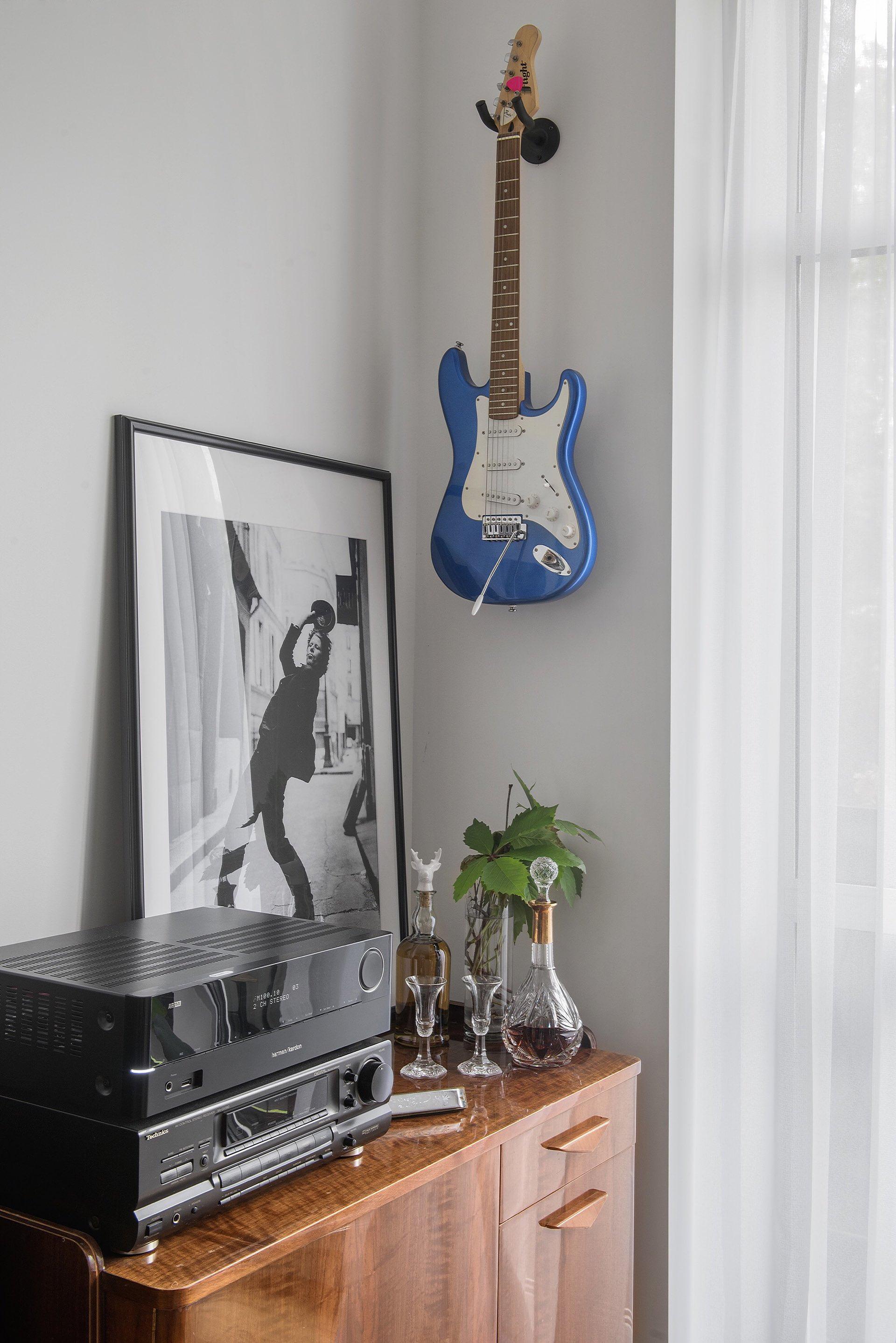 гитара настенное крепление