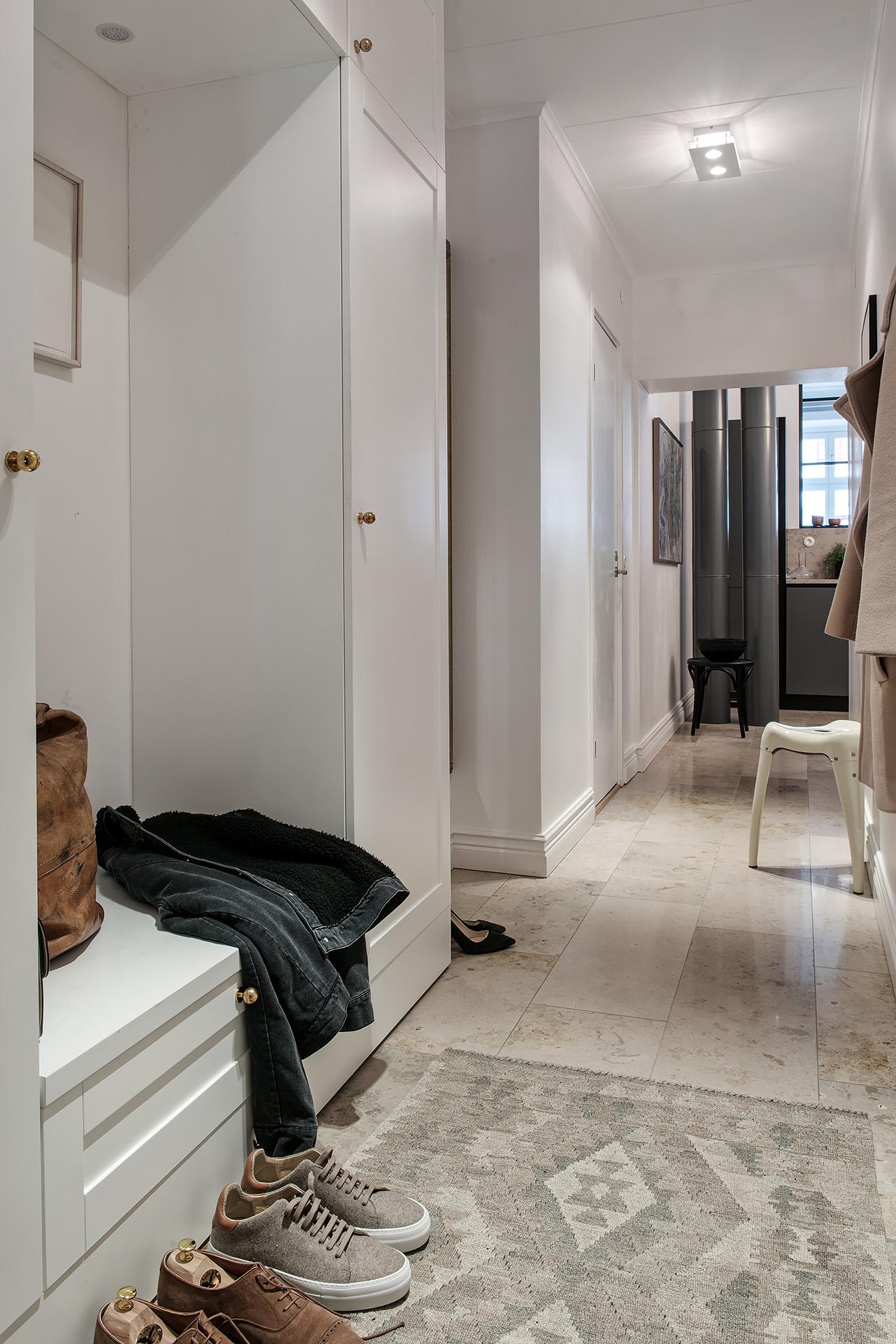 коридор прихожая встроенный шкаф одежда
