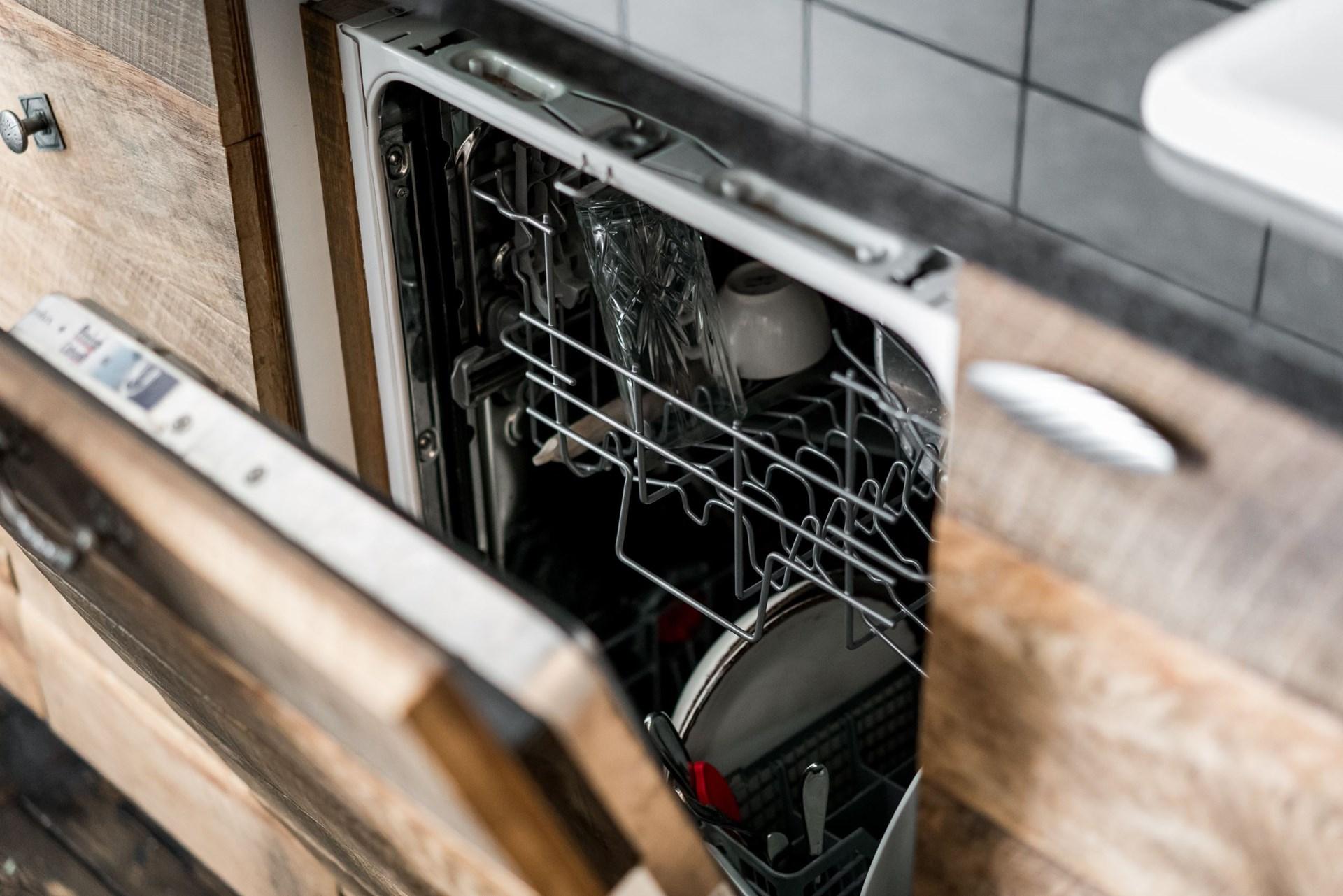 кухонная мебель встроенная посудомоечная машина