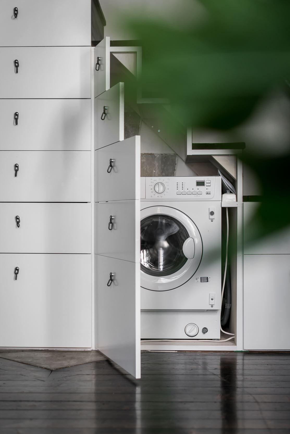 лестница ящики стиральная машина