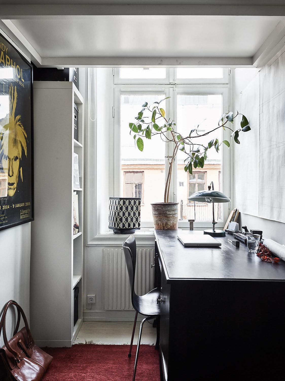 кабинет стеллаж рабочий стол