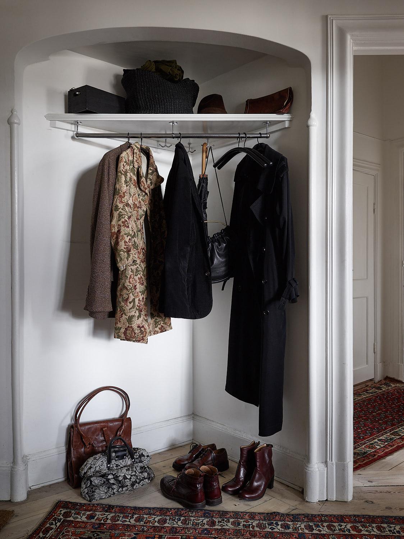 коридор ниша одежда проем наличники