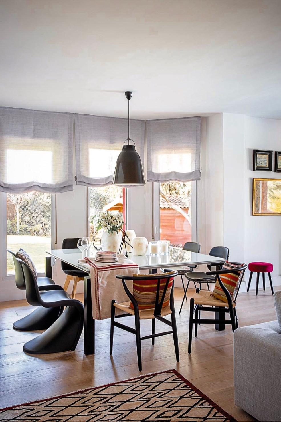 гостиная стол стулья