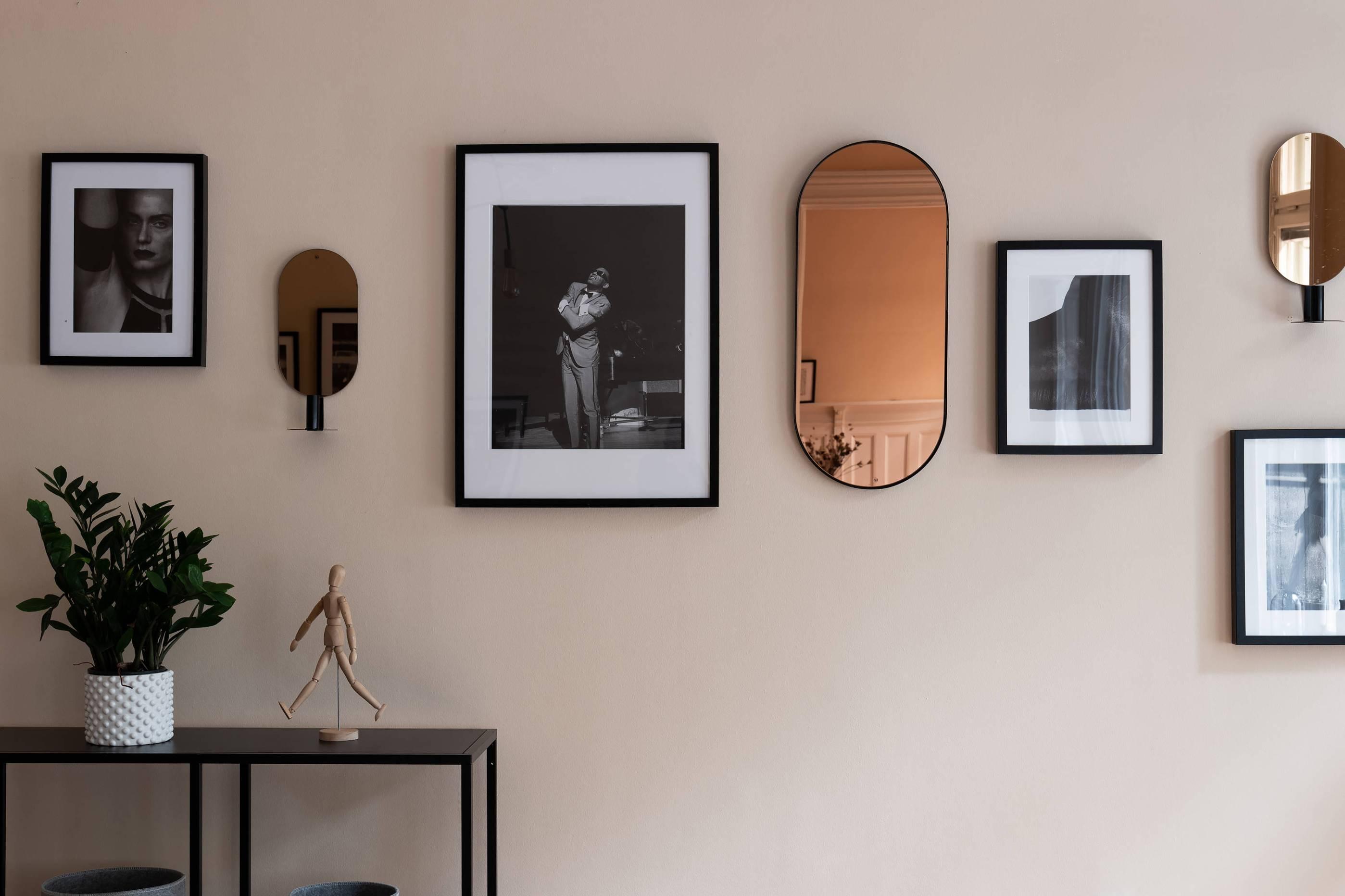 стена декор фотографии