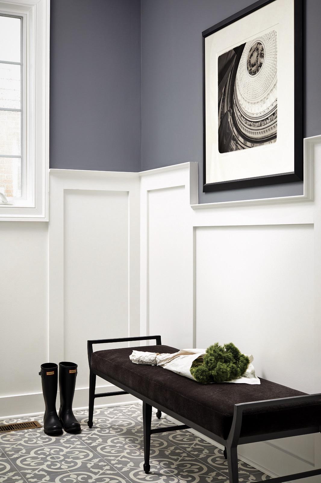 коридор стеновые панели