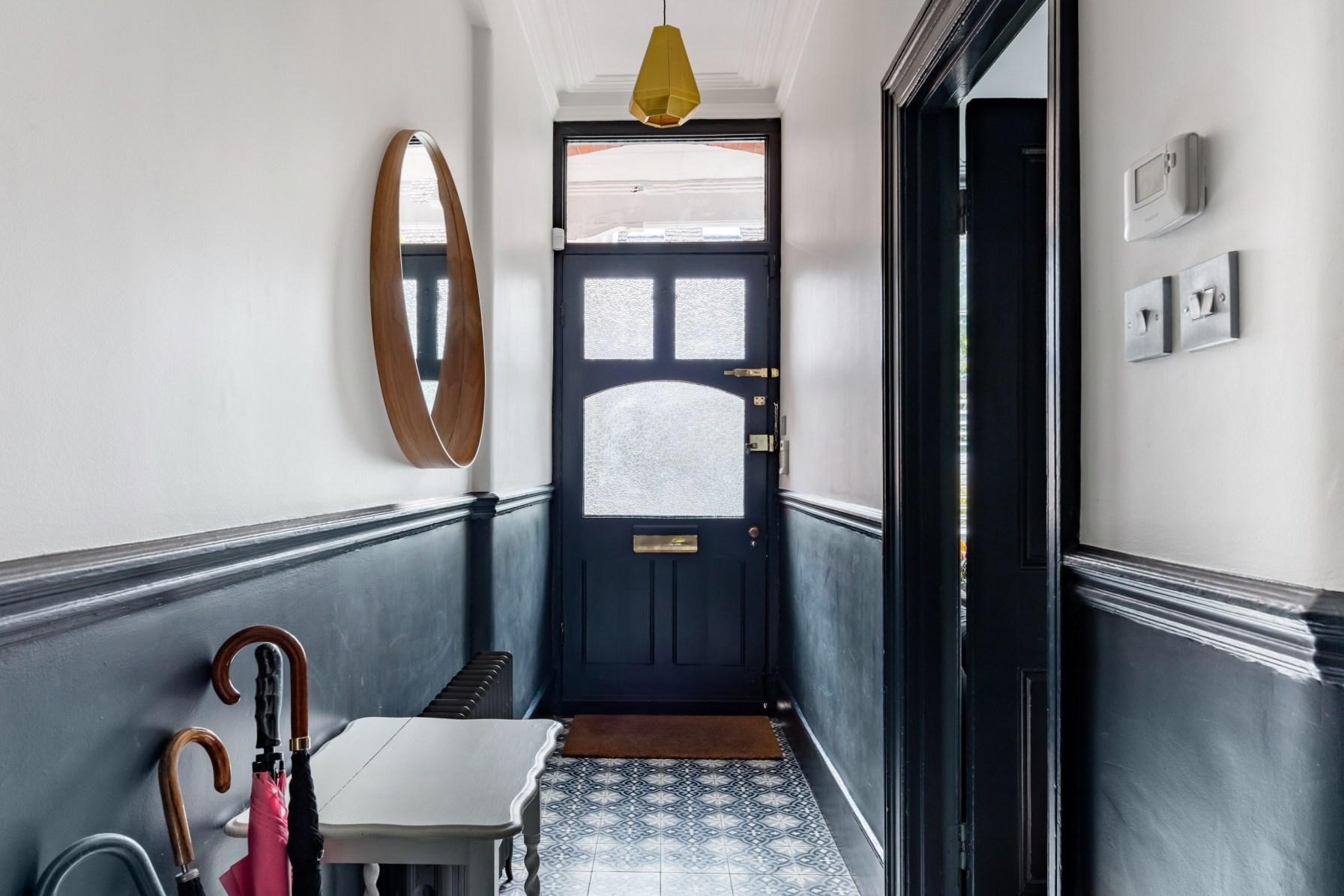 прихожая входная дверь коридор