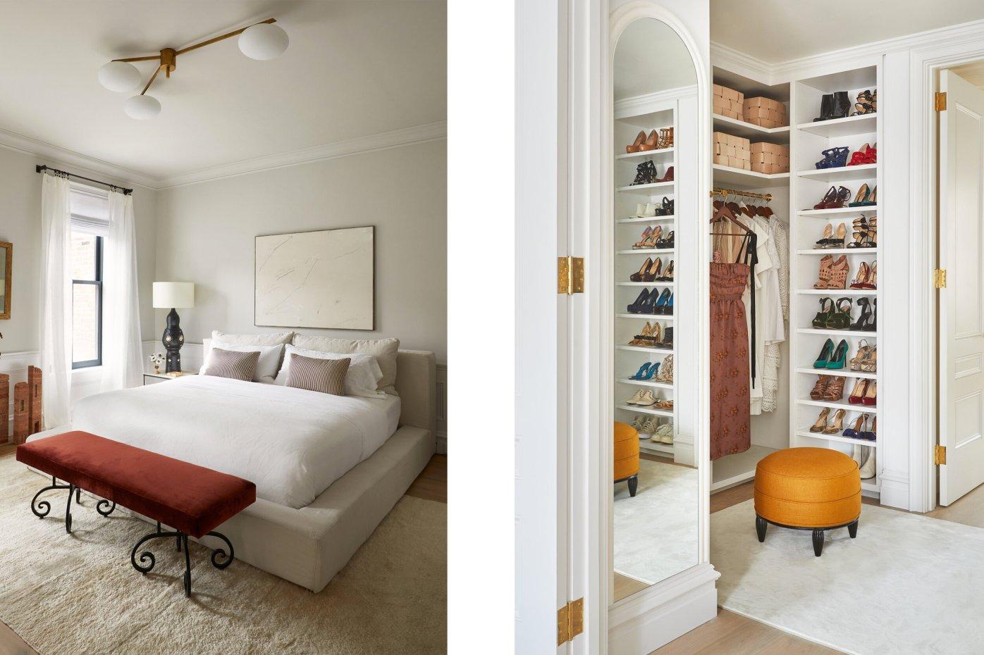 спальня гардеробная