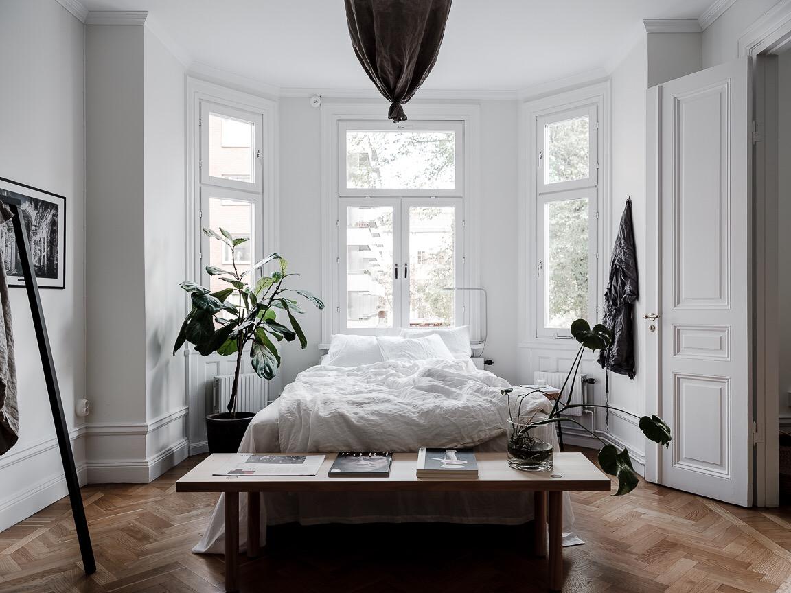 спальня эркер