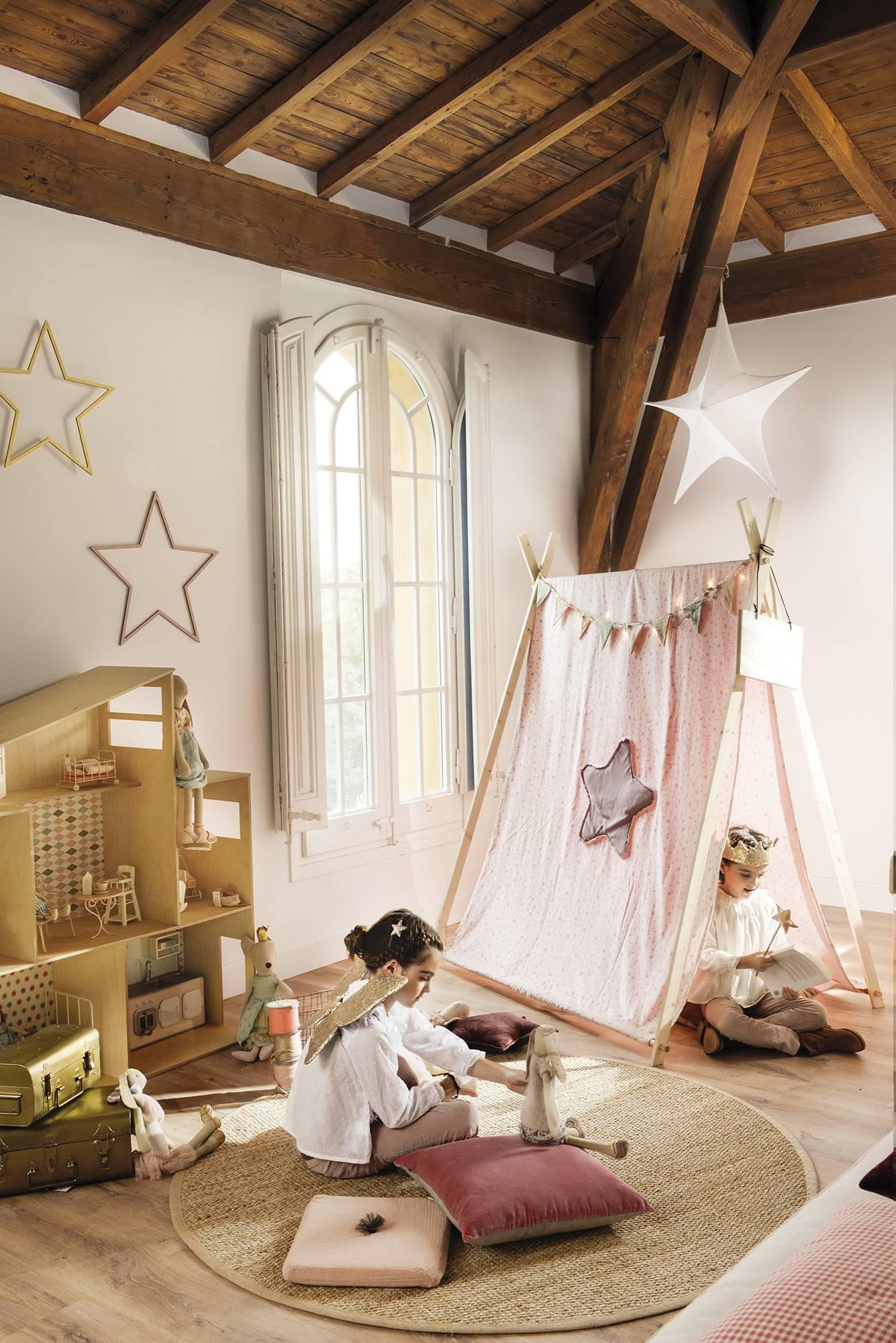детская комната вигвам кукольный домик