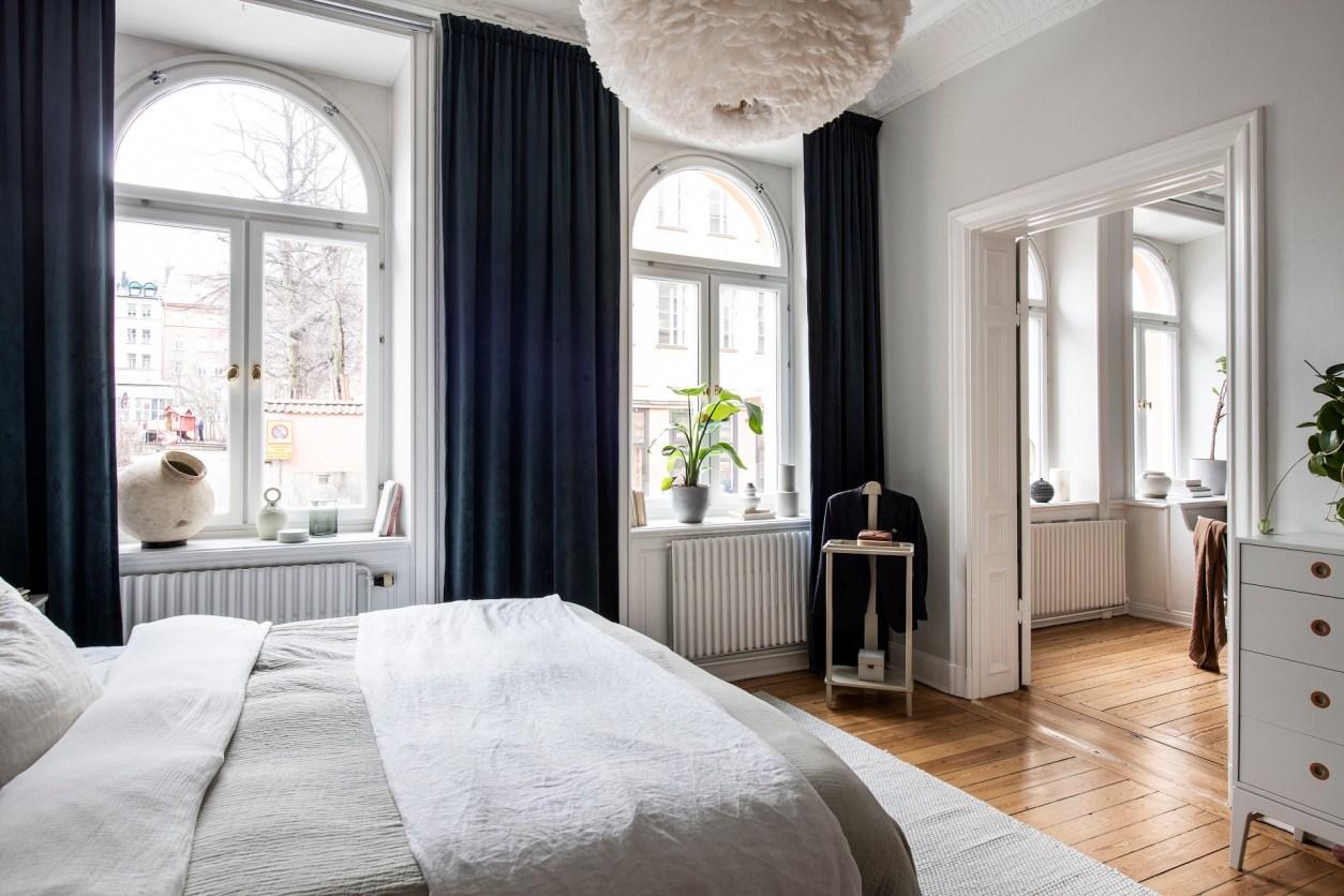дверной проем спальня арочные окна