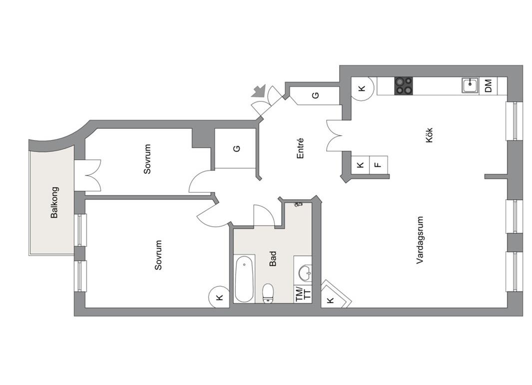 планировка квартира 97 квм 24