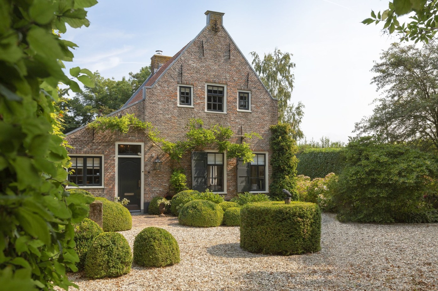 дом в нидерландах фасад двор