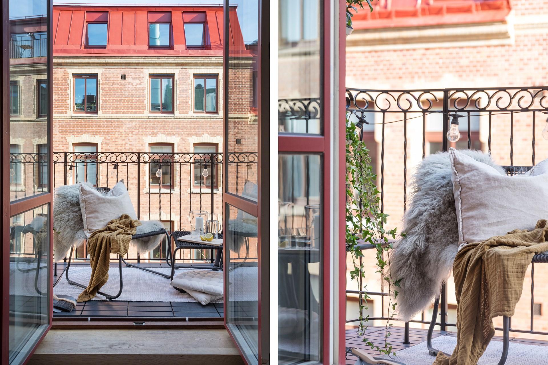 квартира 40 квм балкон