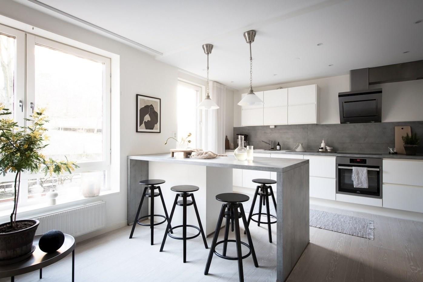 квартира 52 квм кухонная мебель