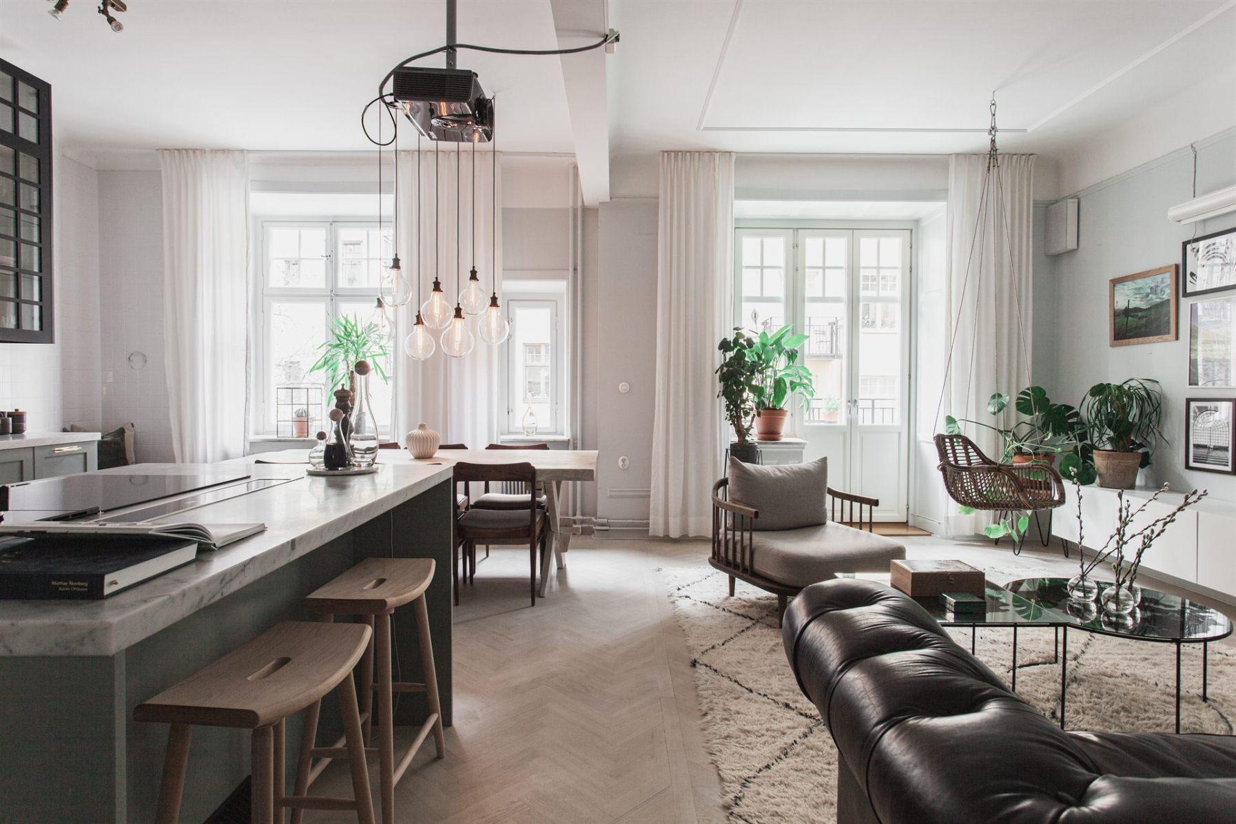 квартира 67 квм кухня гостиная