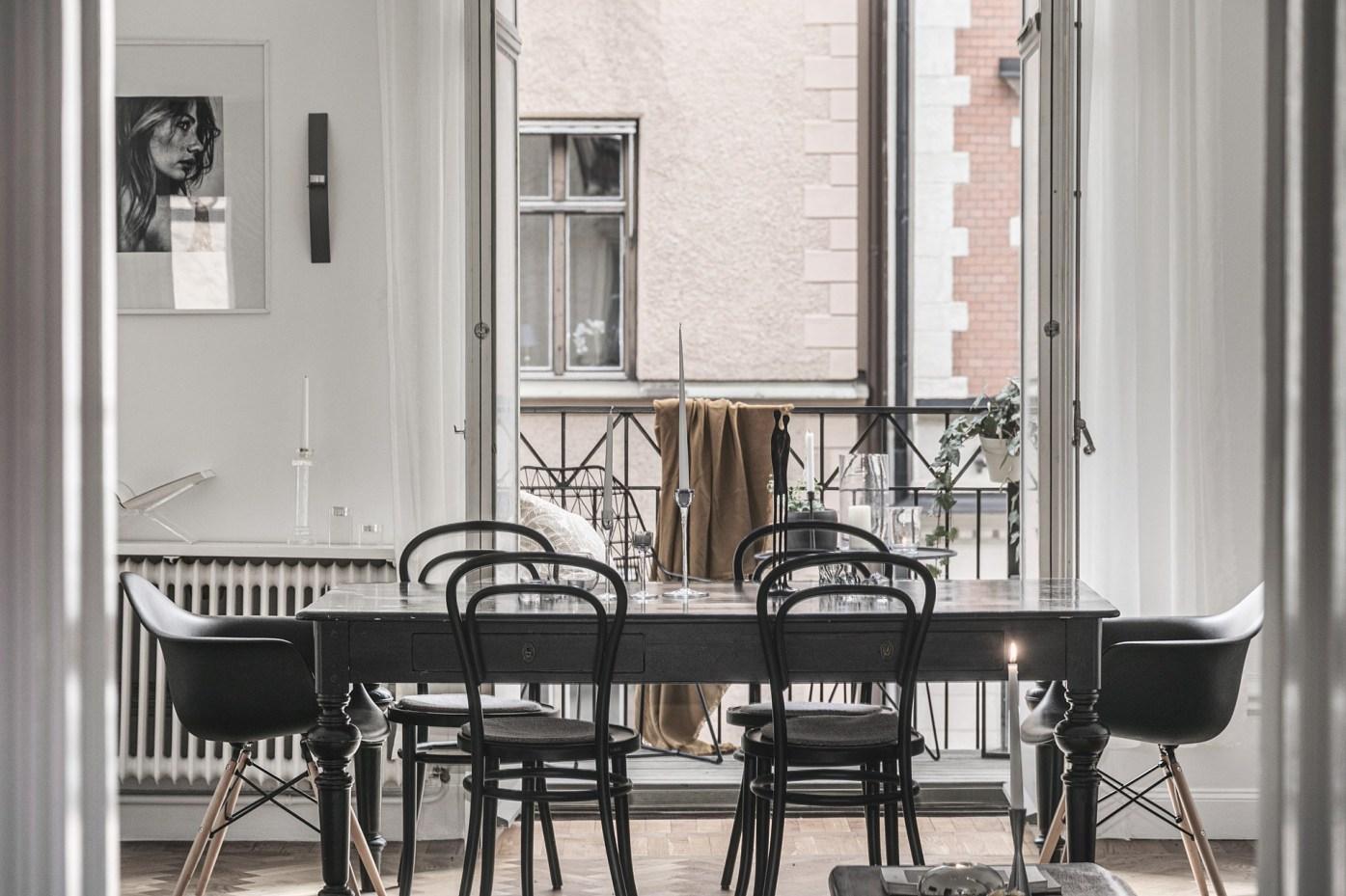 квартира 89 квм обеденный стол стулья