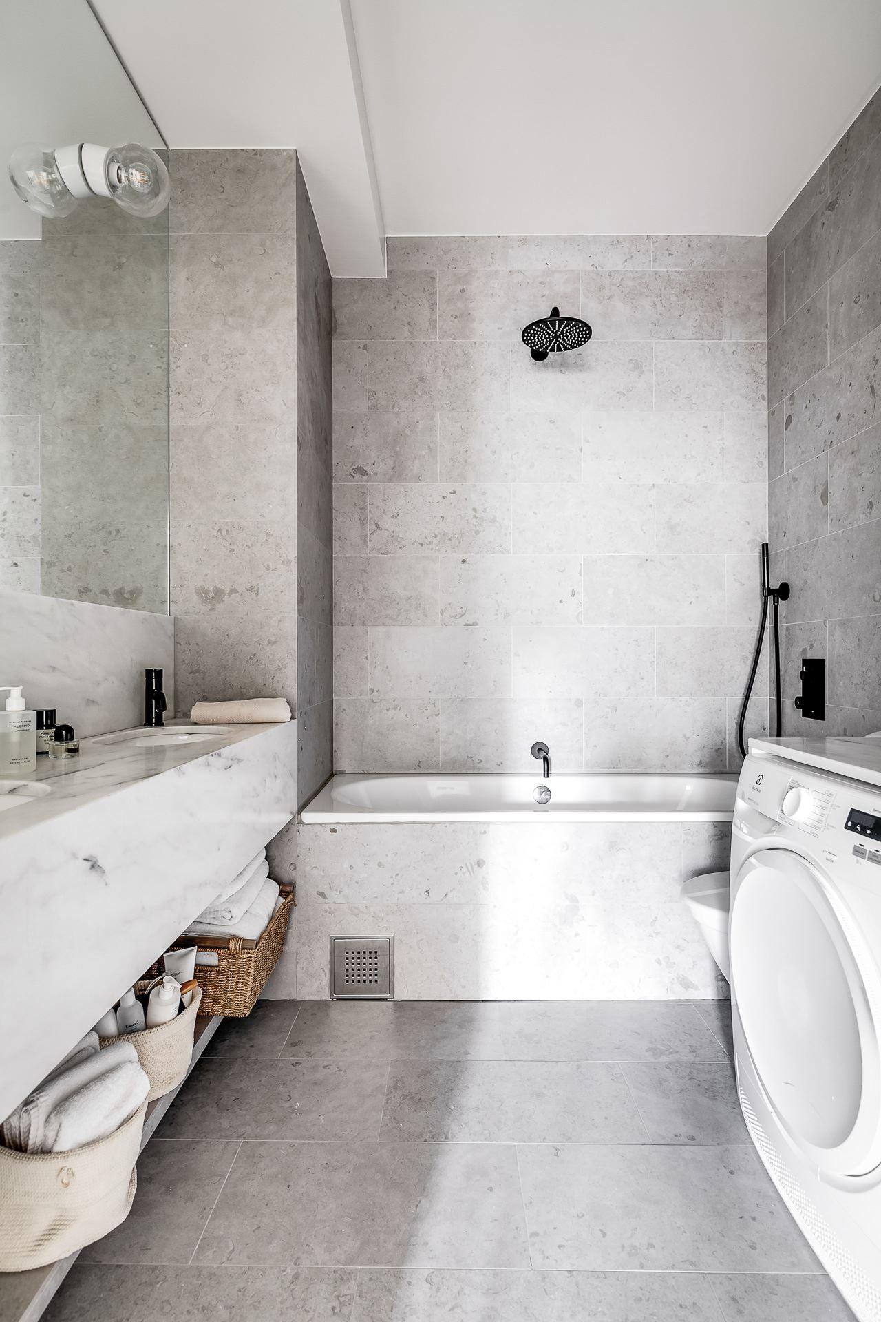 bathroom shower washer