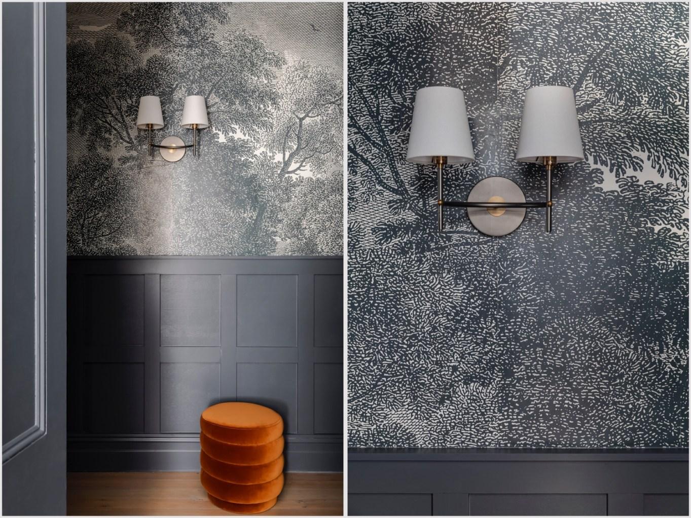 Дом в Австралии стеновые панели обои светильник