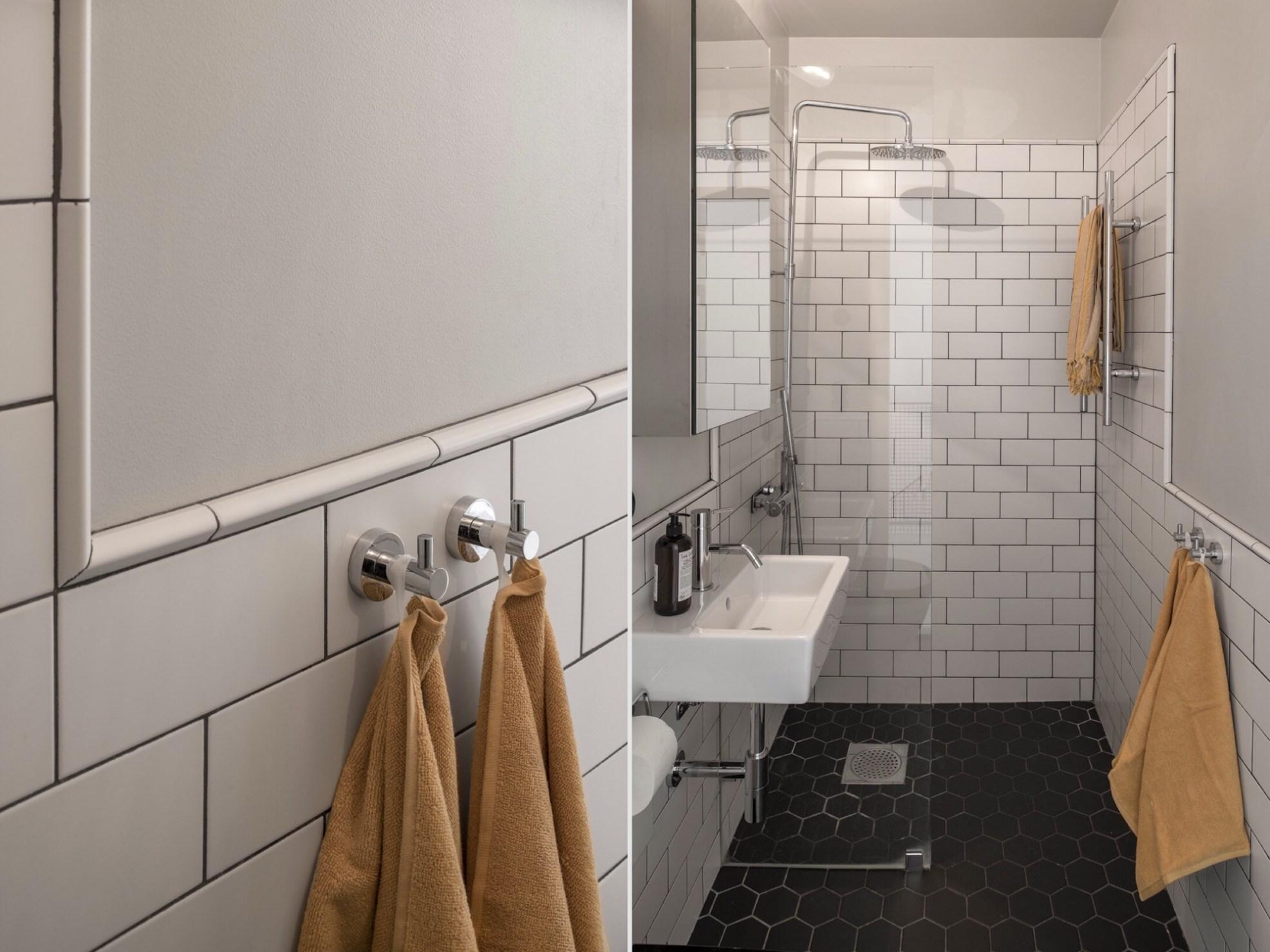 bathroom shower towels