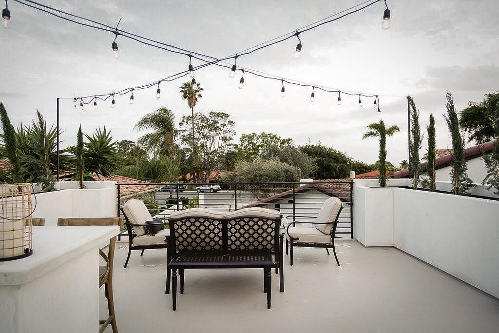 garage rooftop deck