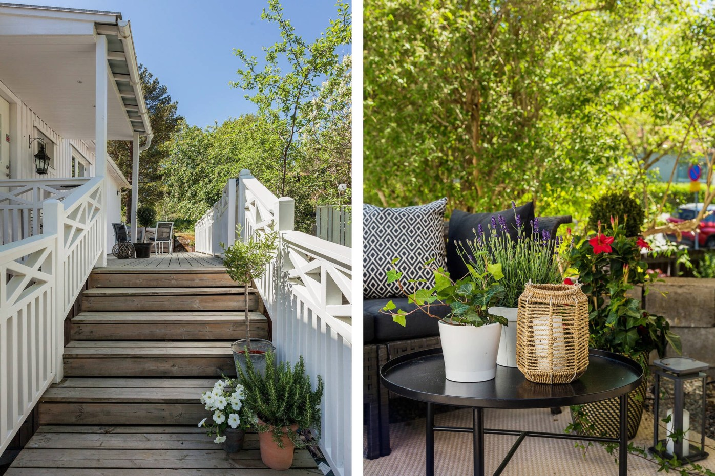house porch stairs
