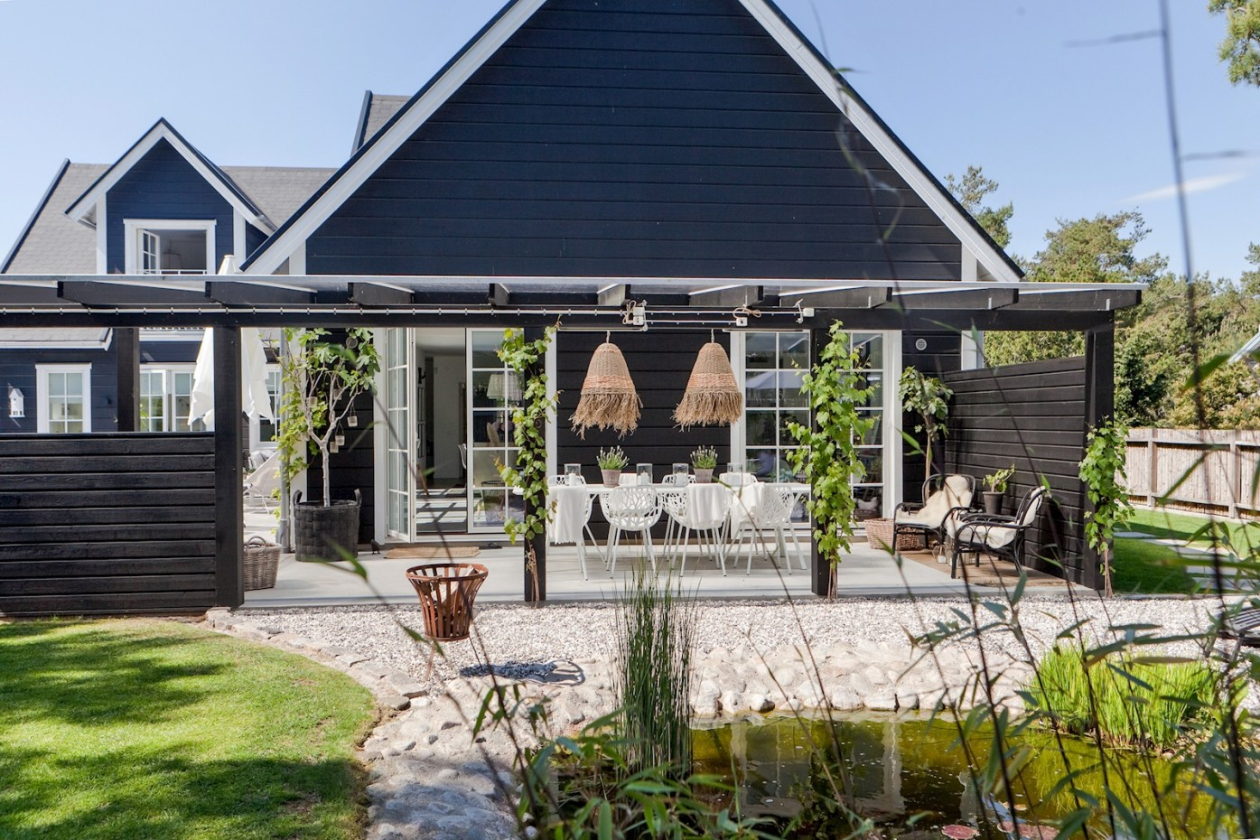 house terrace pergola