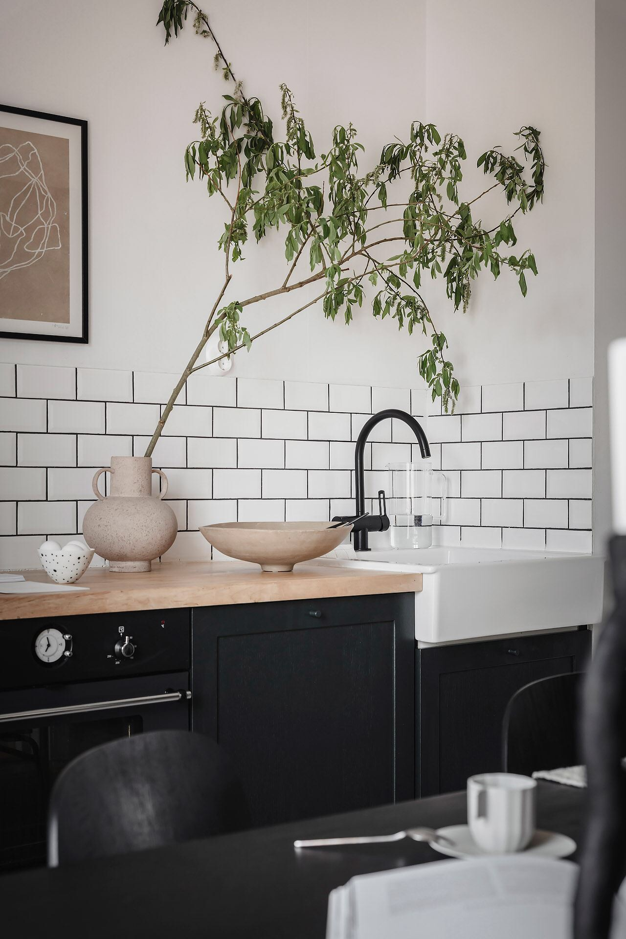 kitchen wooden countertop