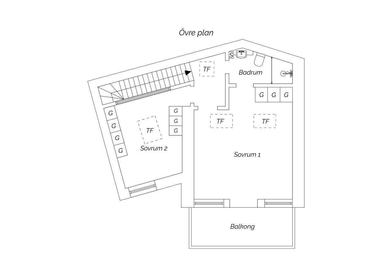 33305 sec 88 sqm apartment floor plan