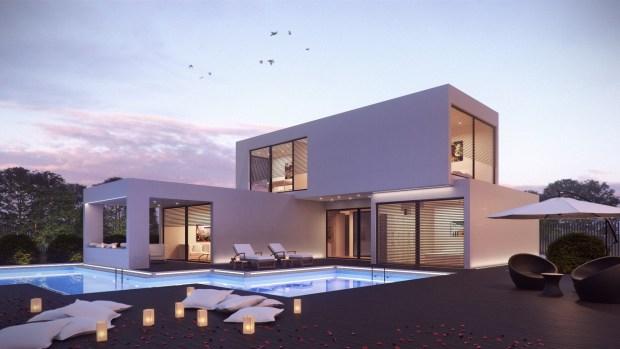 Minimalist House Building
