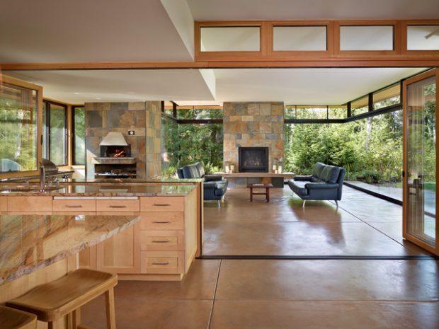 21 Beautiful Indoor- Outdoor Living Spaces - Decor10 Blog on Enclosed Outdoor Living Spaces  id=55690