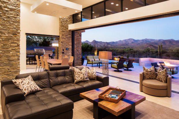 21 Beautiful Indoor- Outdoor Living Spaces - Decor10 Blog on Indoor Outdoor Living Spaces id=95707