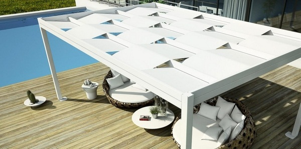 Sunscreen roof fabric white Weavetendaservice