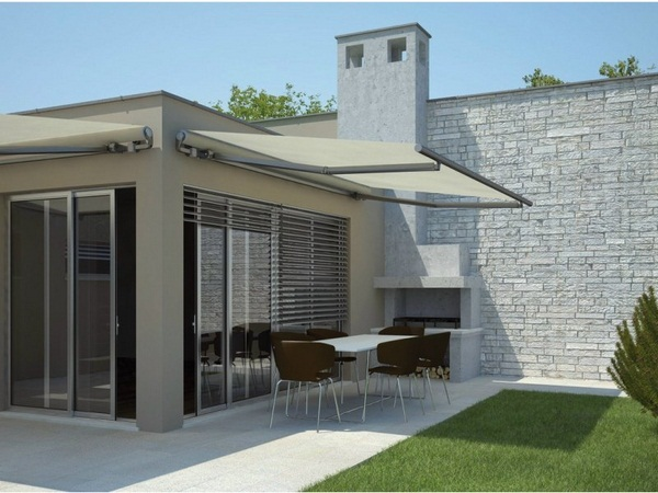 Sunshade awning patio roof House privacy