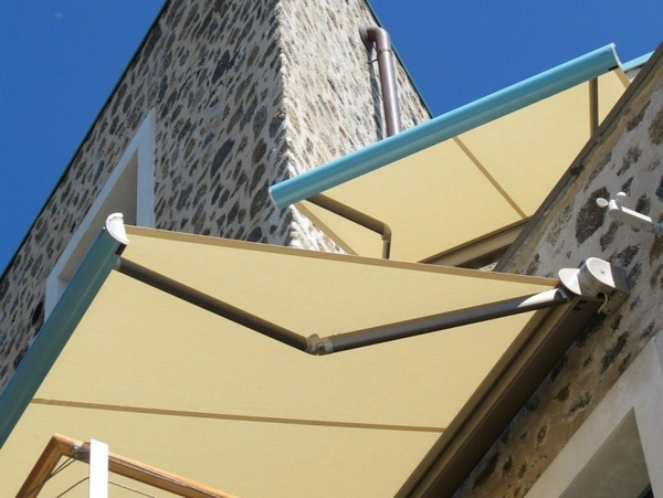 Sunshade awning patio roof wall aluminum