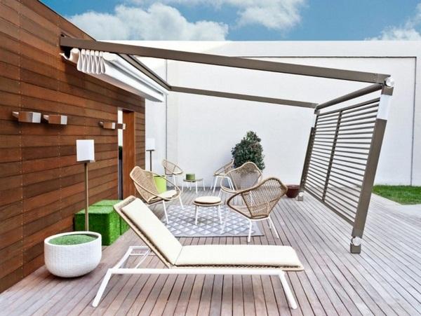 modern patio roof steel Electronically Corradi