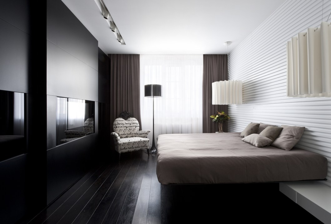 Modern small bedroom decorating ideas for Small modern bedroom decorating ideas