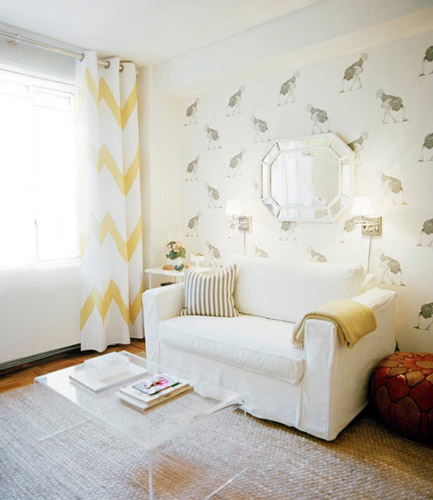 Light Gray And Yellow Color Scheme Calm Fall Decorating Ideas