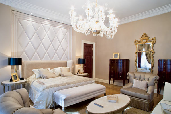 Neo Classic Style With Art Deco Elements Light Room