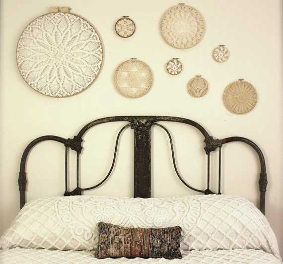 Creative Ways To Make Home Decorations With Embroidery Hoops
