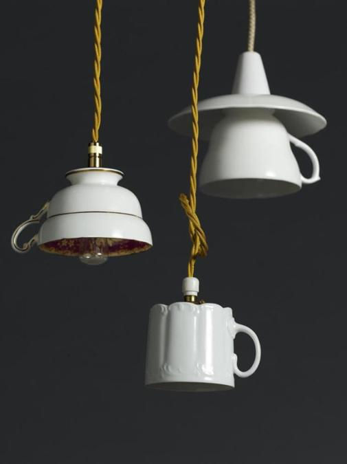 Recycling Tea Cups And Tea Pots For Creative Home